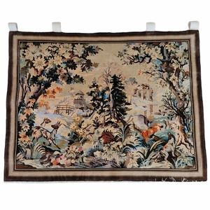 Vintage Scenic Forest Animal Wall Hanging Tapestry